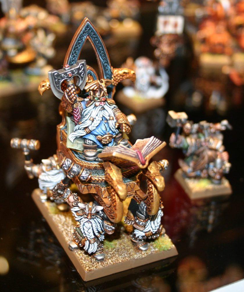 Dwarf High King Thorgrim Grudgebearer