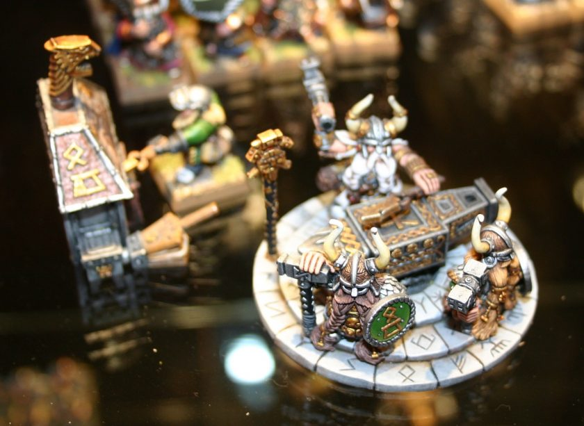 Dwarf Anvil of Doom at Warhammer World