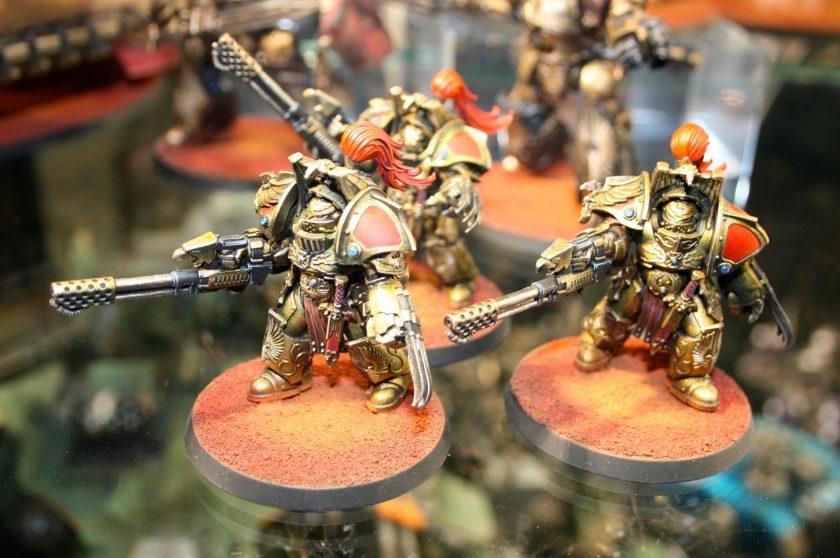 Legio Custodes Aquilon Terminators with Infernus Firepikes