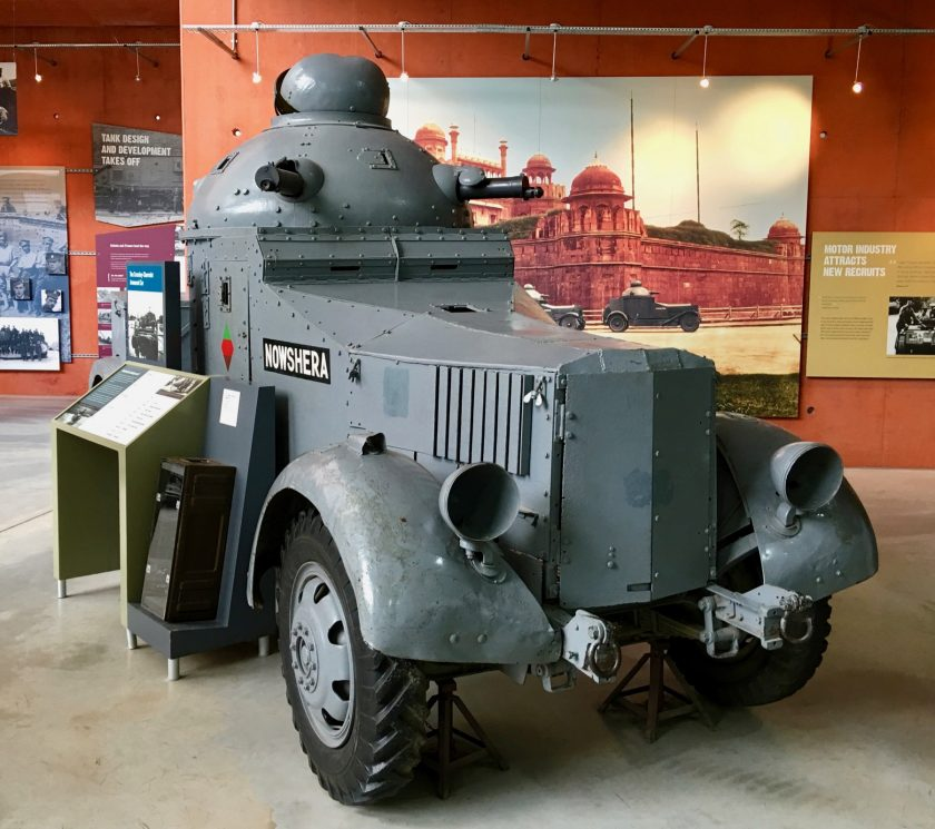 Armoured Car, Crossley Chevrolet (Indian Pattern)