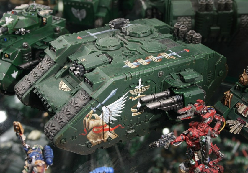 Dark Angels Land Raider