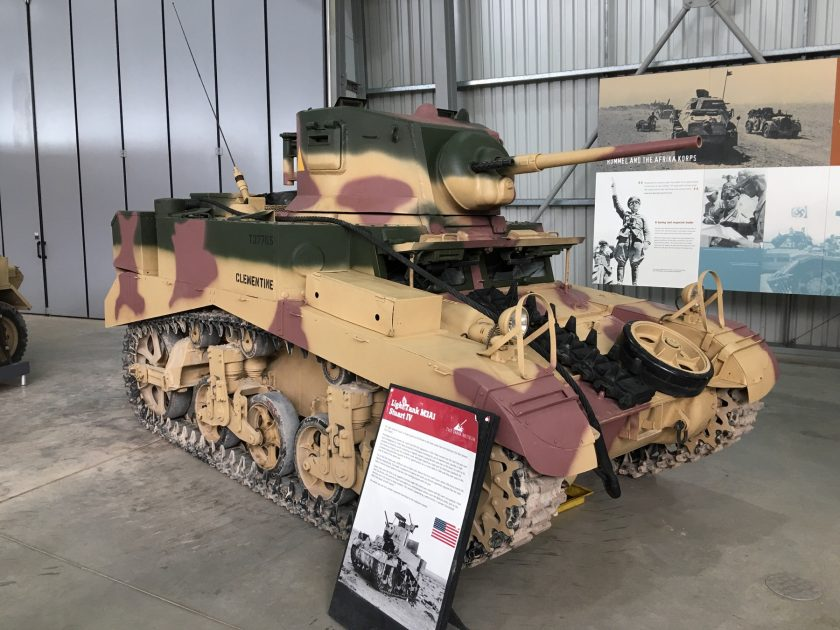 Light Tank M3A1 Stuart IV