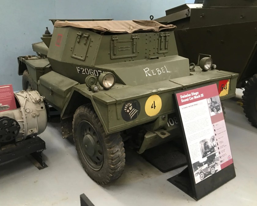 Daimler Dingo Scout Car Mark III
