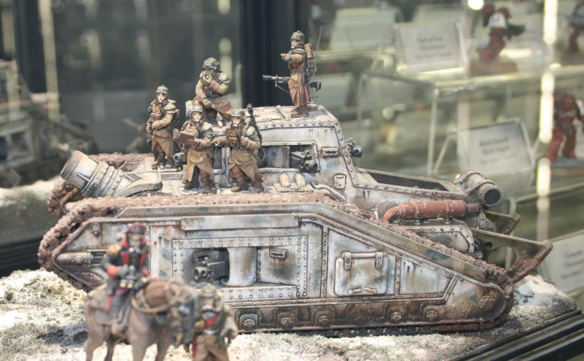 Death Korps of Krieg Malcador Assault Tank at Warhammer World