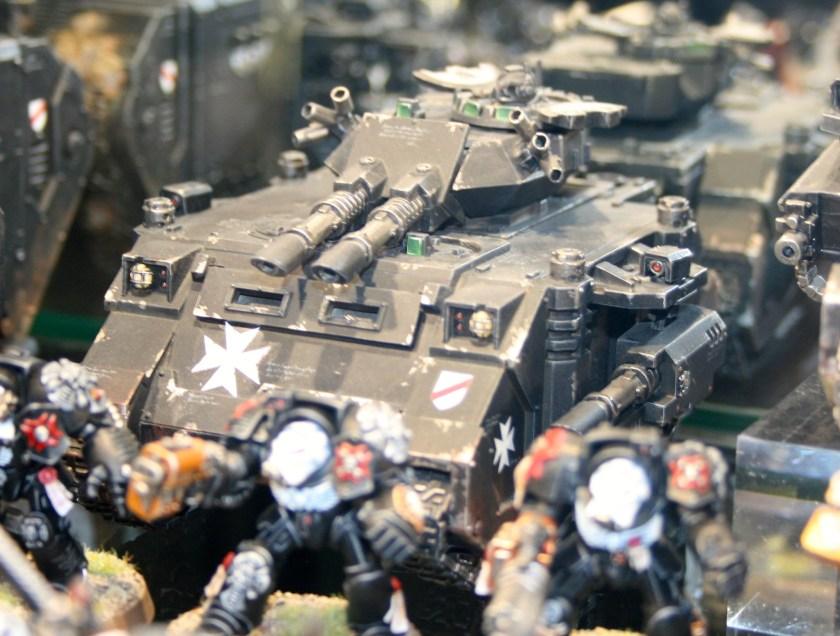 Black Templars Predator at Warhammer World