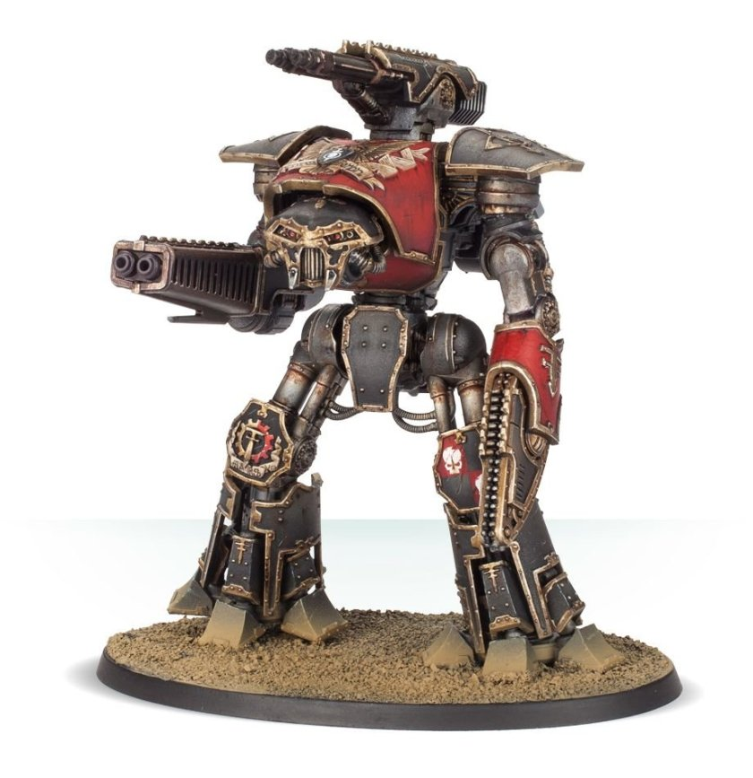 Reaver Battle Titan with melta cannon and chainfist