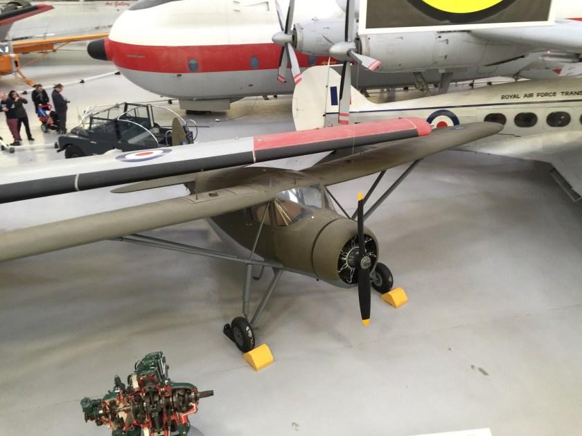Fairchild F-24 Argus - RAF Cosford Museum
