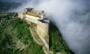 Aerial view of La Citadelle Laferriere