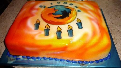 торта Firefox