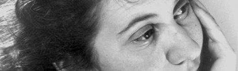 Self-isolation – lessons from Etty Hillesum
