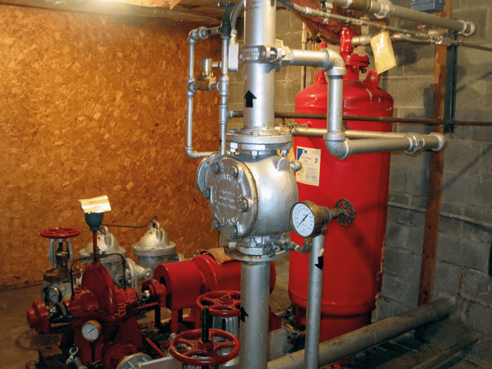 Foam injection system for storage tank fire protection. This system must be started manually. Is your department familiar with the operation of this equipment? Especially at 2 a.m. when there may not be a facility operator on duty?
