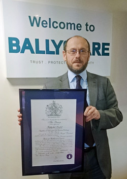 Royal Warrant proudly held by Ballyclare - IFF Magazine