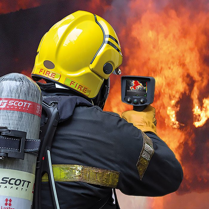The X380N allows firefighters to fully interpret a fire scene and make better, safer, more tactical decisions.
