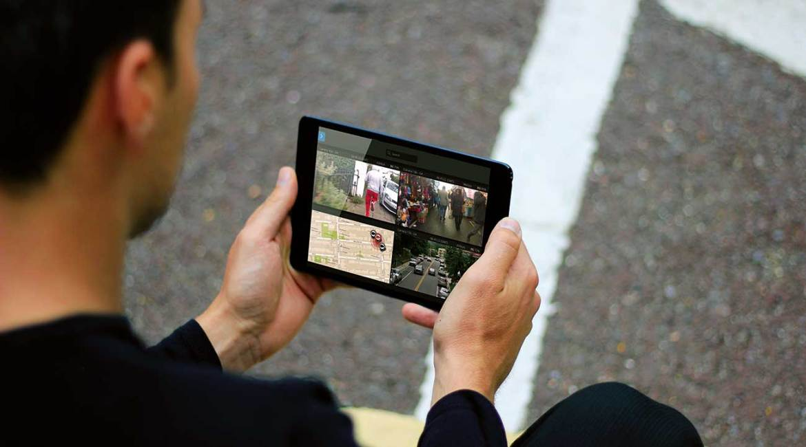 EdgeVis Live Video Streaming Technology can be viewed remotely via a Mobile Device.