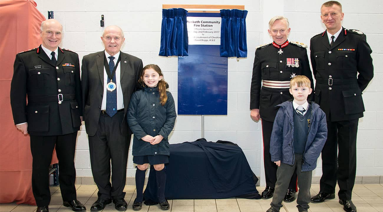 Lord Lieutenant asks local school children to help officially open Penketh Fire Station