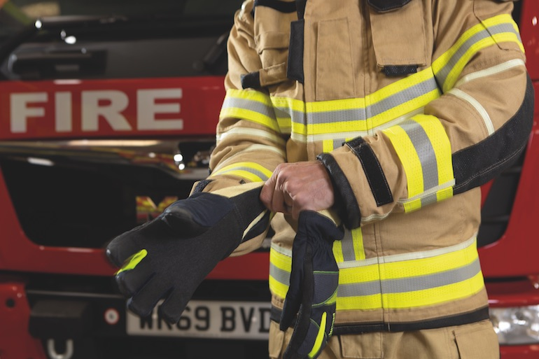 The incredibly demanding job and the body heat a firefighter creates is unavoidable. Therefore the challenge is finding a way to get the heat out of their suits without letting heat from the outside in.