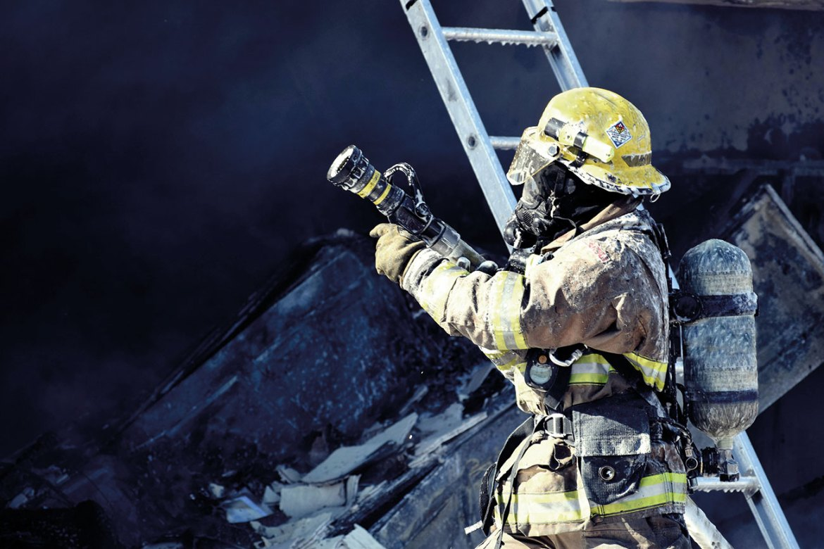 Fluorine free foam protects firefighters and the wider environment with no loss in performance.