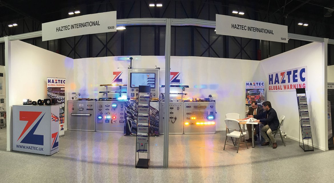 Visiting the Haztec stand at one of many UK and international exhibitions is a great way to see the manufacturer's latest range.