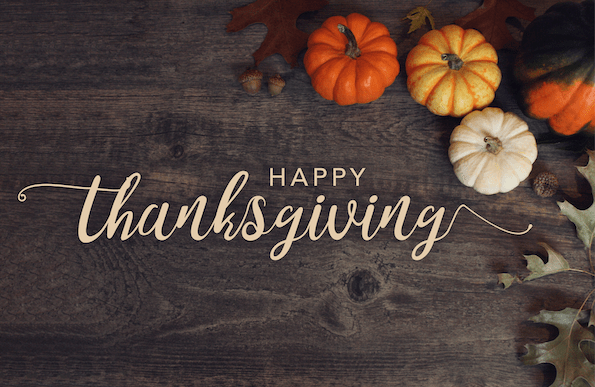 Happy Thanksgiving from IFFP!