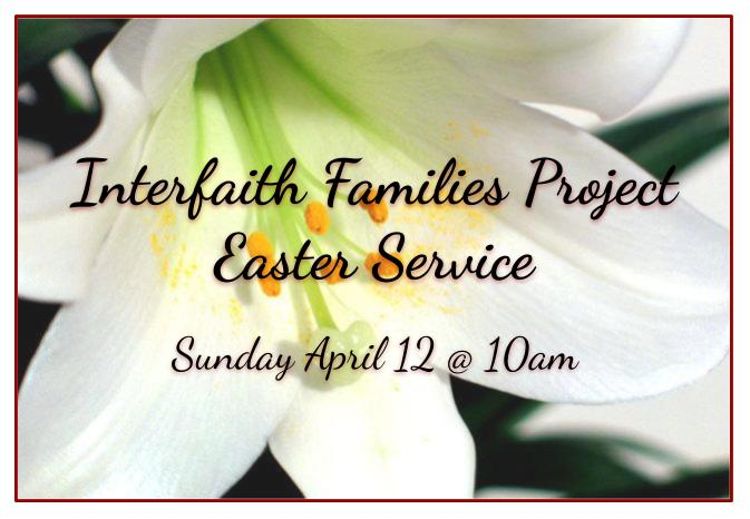 IFFP Easter Services
