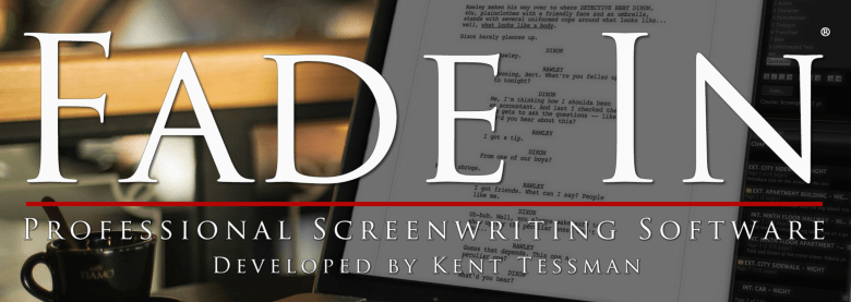 Fade In screenwriting software