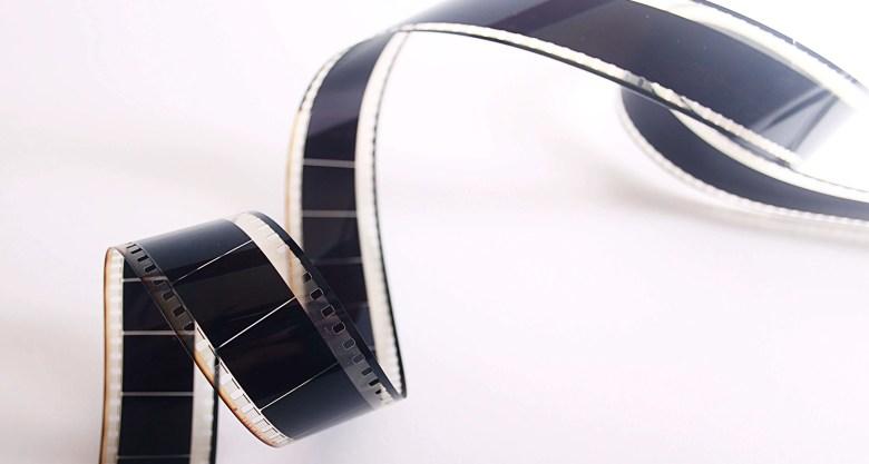 Vintage film roll