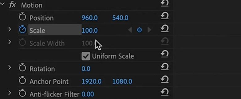 Keyframe - Slow Transition