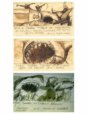 Jaws Storyboard