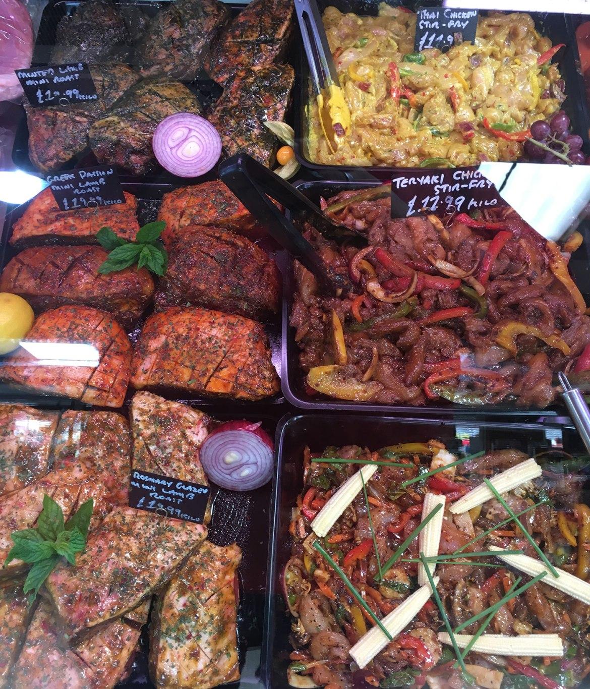 Lafiness Mediterranean Lamb Roasts and Lafiness Black Garlic Stir Fry