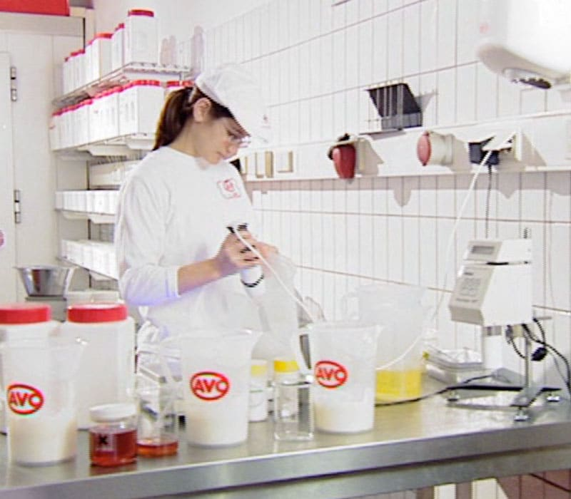 AVO products are created with care and precision