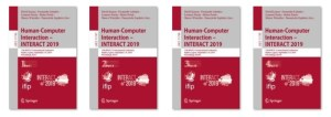 thumbnails of INTERACT 2019 cover proceedings
