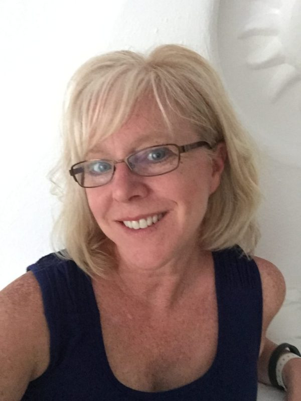 Blog author, Ellen Burgan
