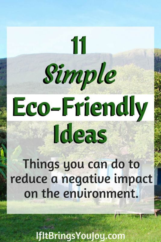 Simple changes you can make to reduce the negative impact on the environment. Go green with these eco-friendly alternatives. #ecofriendly #environment