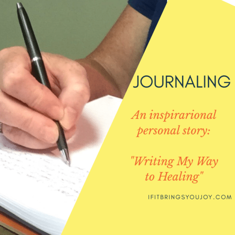 Journaling is a healthy habit that'll help you through good times and bad.