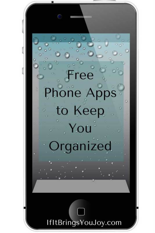 Get your life organized and reduce stress - there's an app for that! Phone apps will help you get and stay organized, keep you on task, and help you find information when you need it. Learn more about the features of these iPhone apps that can bring calm to your life.