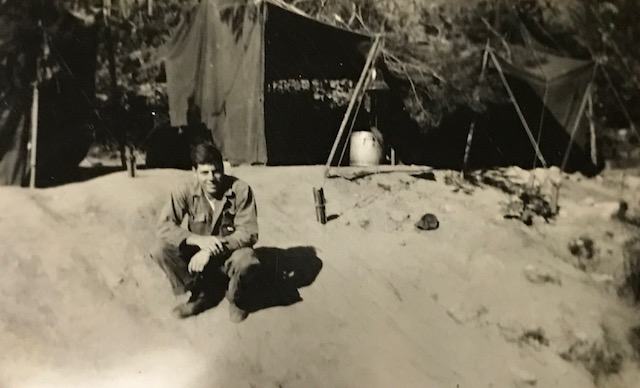 Private First Class James W. Bleier in the Korean War