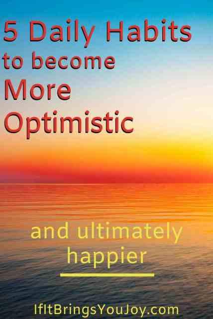 Sunrise with optimism