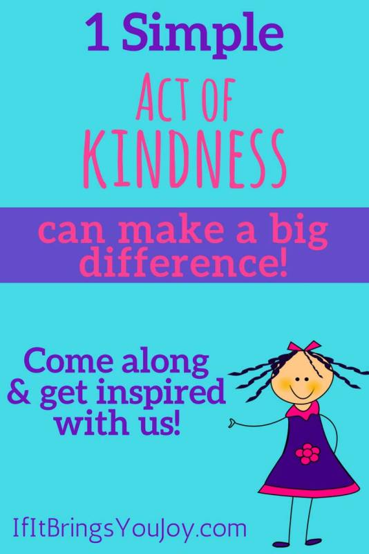 Kindness! The recipient, the giver, and anyone who silently observes the kind act will all be inspired to pass it on. #KindnessMatters - Pass it on!