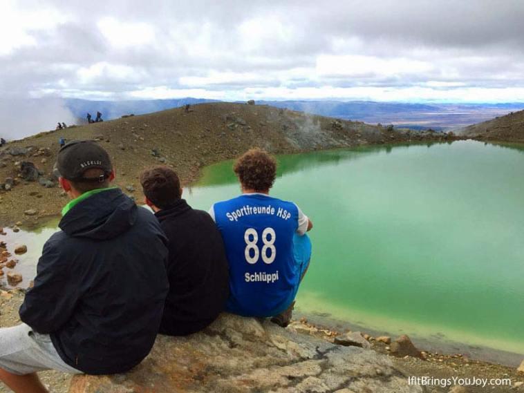 Emerald Lakes, Tongariro, New Zealand