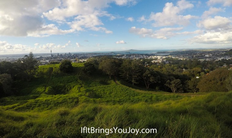 City view of Auckland, New Zealand
