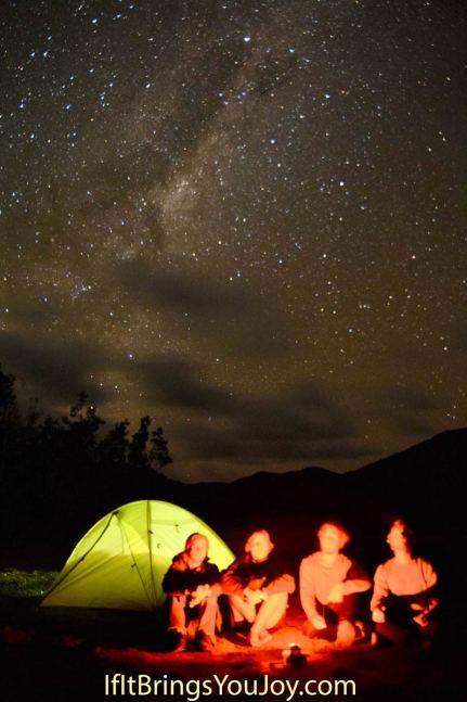 Amazing star-lit view in Cape Reinga, New Zealand. #NewZealand