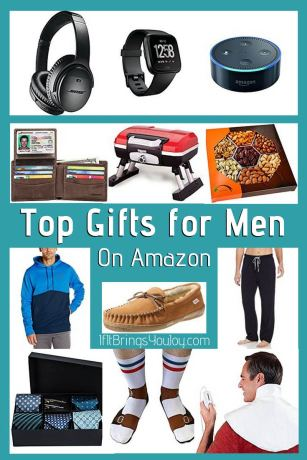 Various gifts for a man