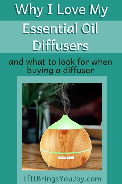 Essential oil diffusers used for aromatherapy give you the benefits of essential oils, plus your space will smell great! Learn about diffusers & recommendations. #EssentialOils