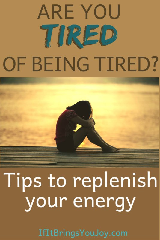 Are you tired of feeling tired all the time? Try these self-care tips that will help you replenish your personal supply of energy. #selfcare #tired