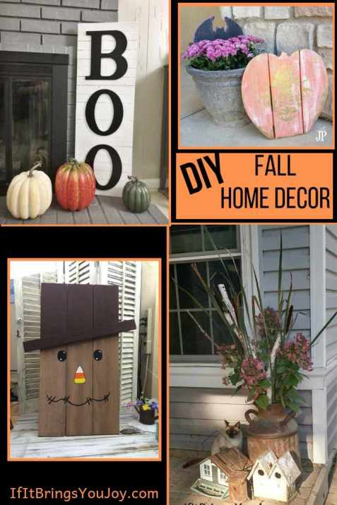 Halloween and fall home decor
