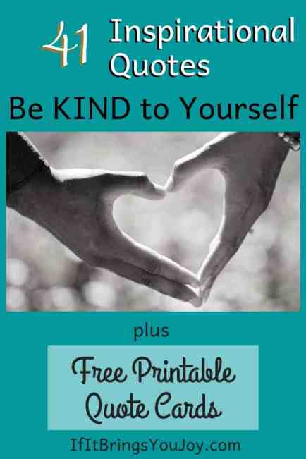 Hands forming a heart for kindness