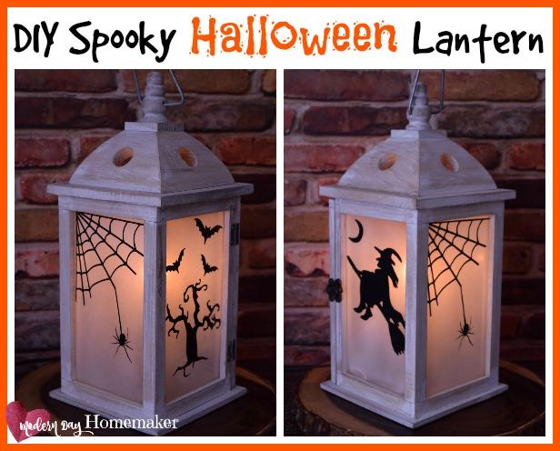 Spooky Halloween lanterns