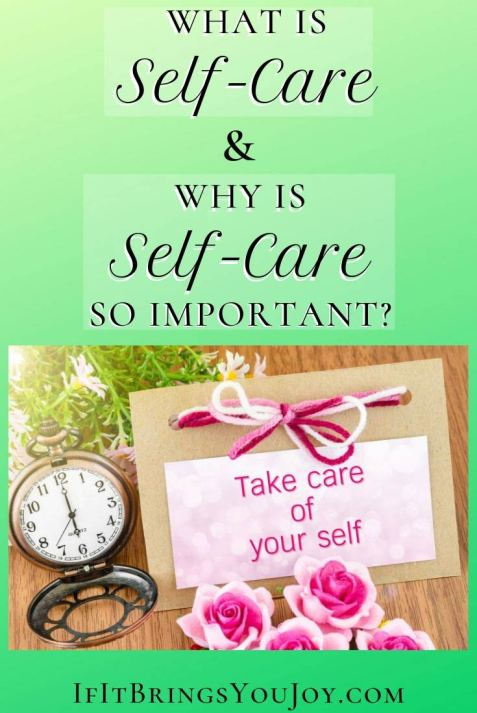 Items for self-care