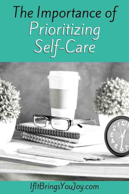Self-Care items