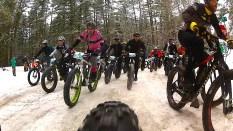 2016 Fat Bike Birkie - Rear Cam Screencap 4